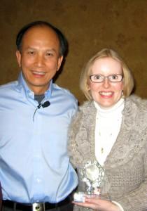 1. Colleayn and Master Chunyi Lin colored