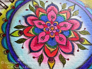 Colorful Twinks Mandala, close up, Twinks pm with watermark