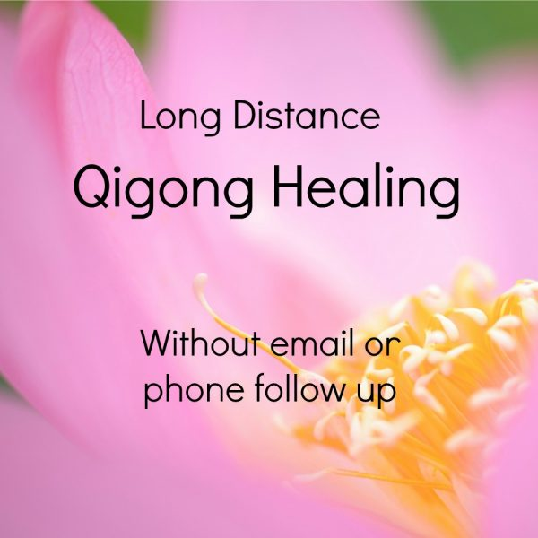 Long distance Qigong without phone or email follow up