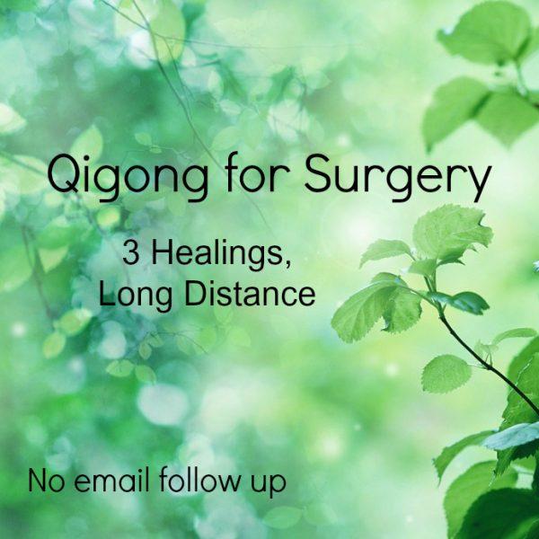 Surgery Qigong no email follow up