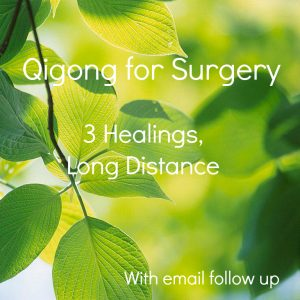 Surgery Qigong with email follow up