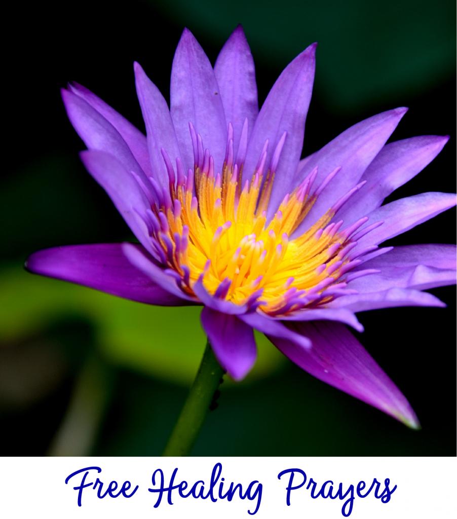 Free Healing Prayer List